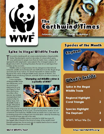 newsletter - world wildlife fund